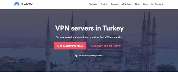 NordVPN-for-Turkey