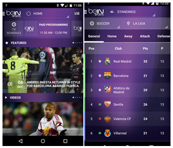 beIN Sport App for Android