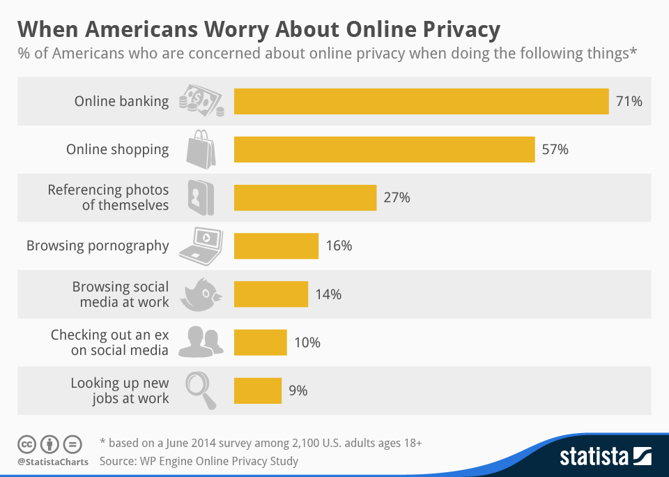 When Americans Worry About Online Privacy STATISTA