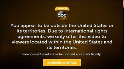 Watch Dancing With The Stars From Outside US