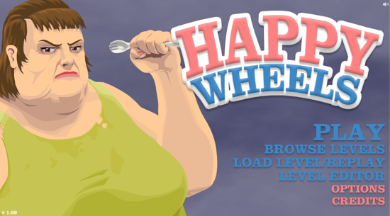 Play browse levels load level - Happy Wheels