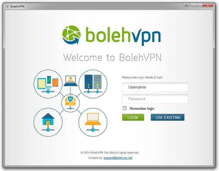 BolehVPN-Windows-Client