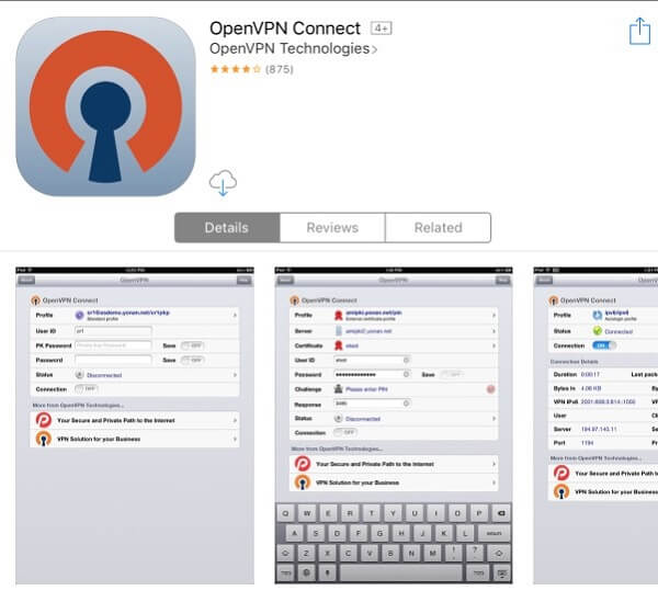 UnoTelly-OpenVPN-iOS