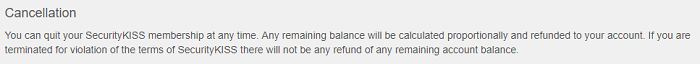 SecurityKISS-refund-policy