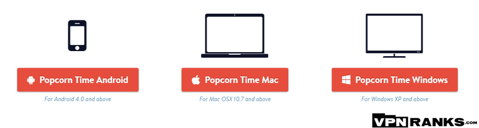 Step 2 to Install Popcorn Time for Windows