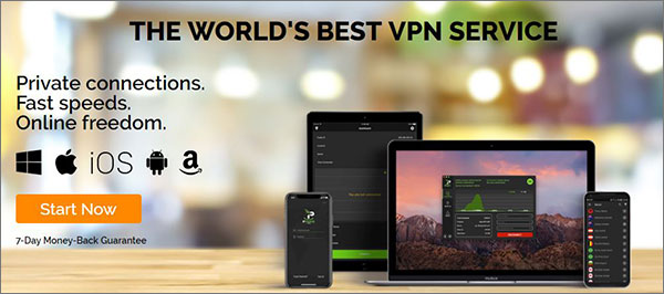 IPVanish - Best VPN for Chromebook