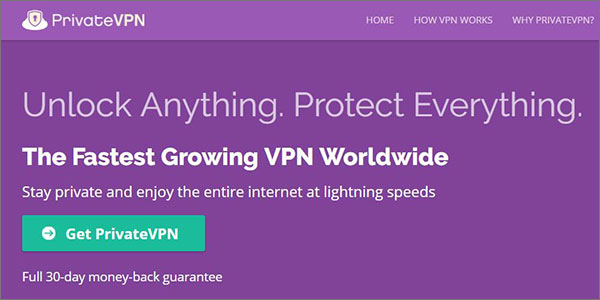PrivateVPN - Best VPN for Chromebook