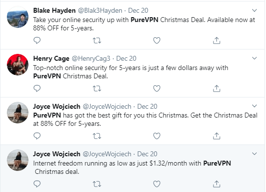 PureVPN-Customer-Reviews-on-Twitter