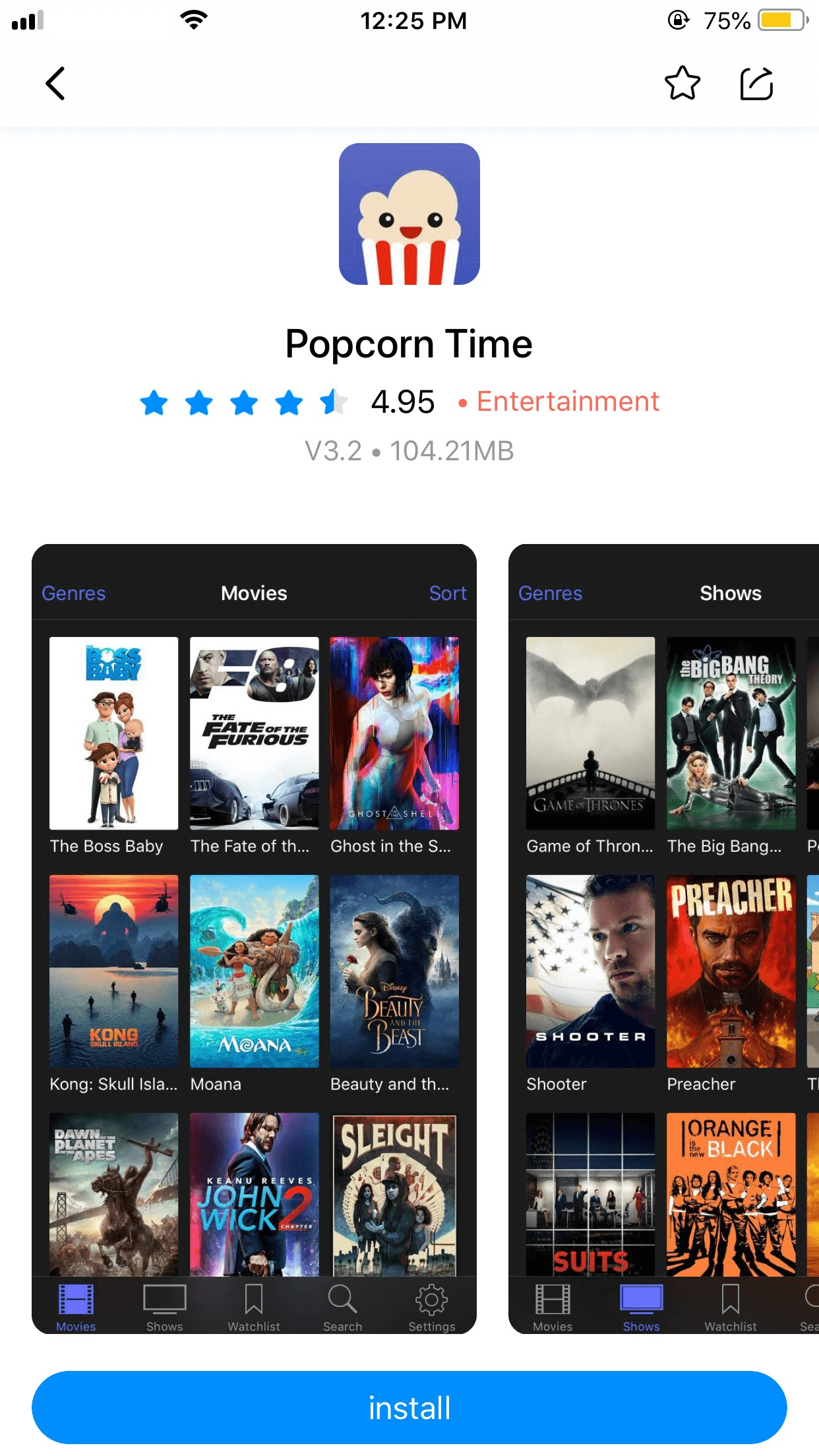 how to download popcorn time on iphone 6