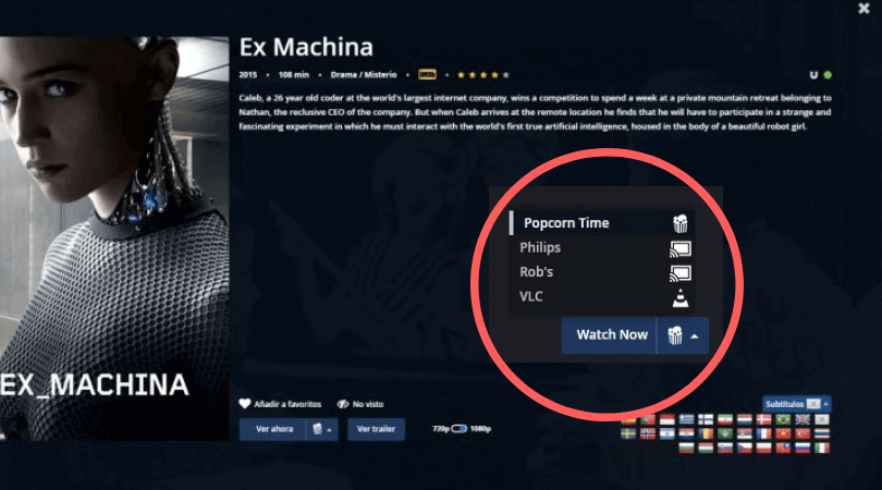 use-watch-now-button-to-cast-movie-to-TV-through-linux