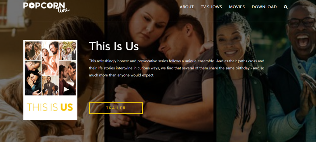 how to Watch This Is US Season 2 on Popcorn Time