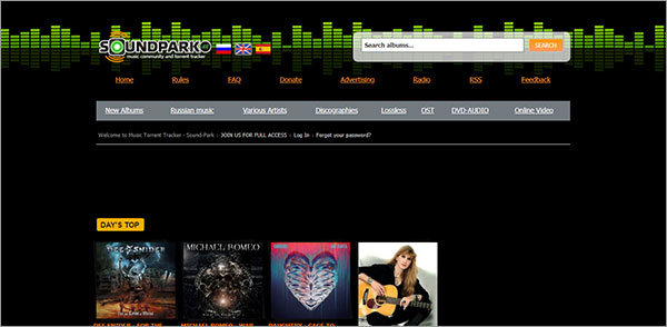 best flac music download site