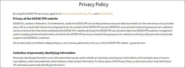 Goose-VPN-Privacy-Policy