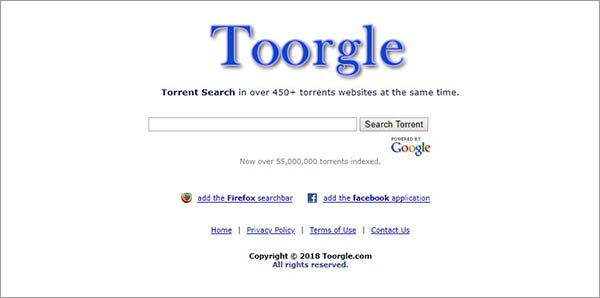 Toorgle-for-gaming-torrents