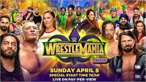 How to Watch Wrestle Mania 34 Live Online from Anywhere