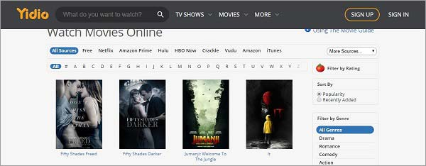 Yidio-torrent-site-for-movies