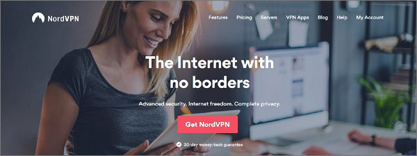 NordVPN - Good VPN for Overwatch
