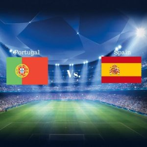 2018 Football World Cup Match-ups: Portugal vs. Spain