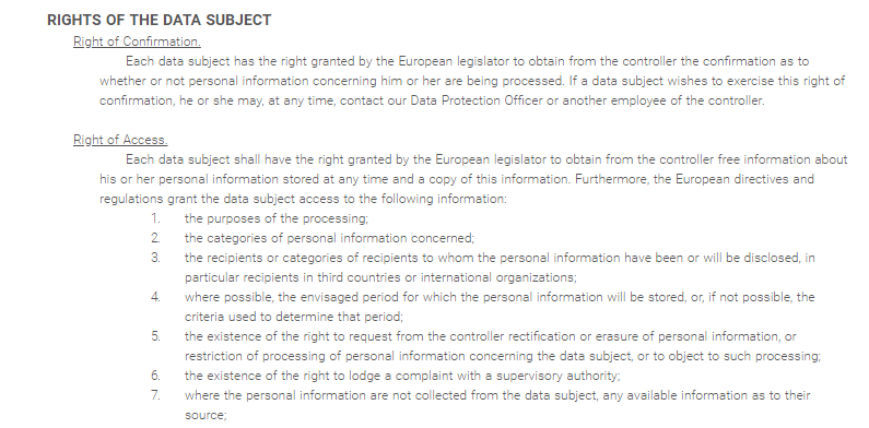 Private Internet Access (PIA) – GDPR Compliant