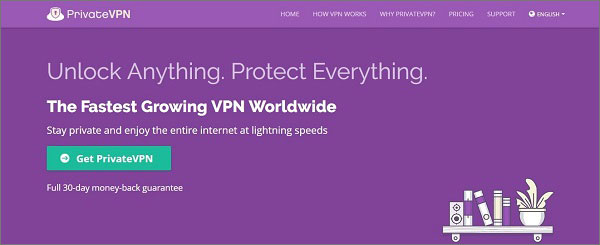 PrivateVPN - Best Encryption VPN