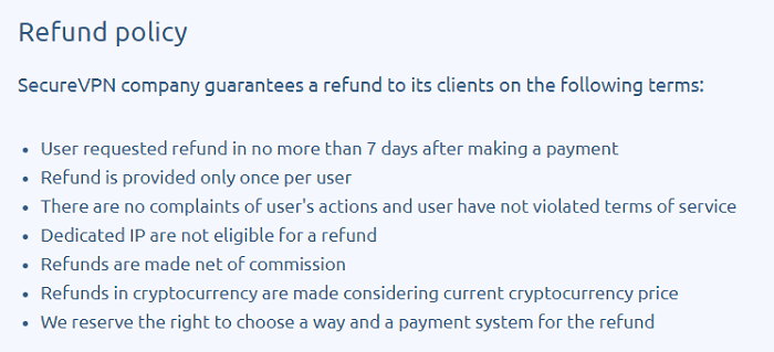 SecureVPN-Pro-Refund-Policy