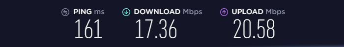 Speed-Test-with-Mullvad VPN