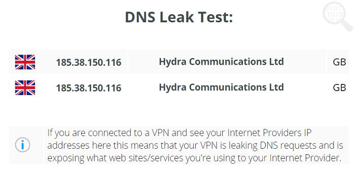 Buffered-VPN-DNS-Leak-Test