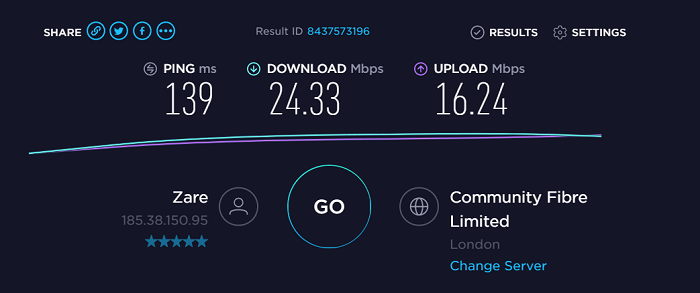 Buffered-VPN-Speed-Test-Result