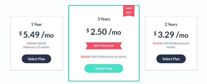 Pricing-SaferVPN