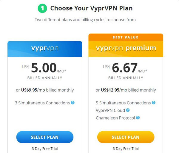 VyprVPN-Netflix-Pricing-Plan