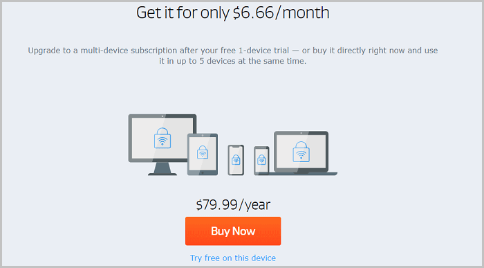 Pricing-Review-AVG-Secure-VPN