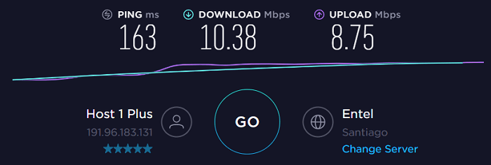 Speed-Test-MoreVPN