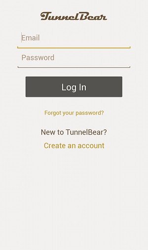 TunnelBear-Android-Login