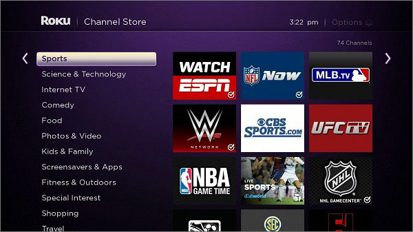 Watch ESPN for EPL on Roku