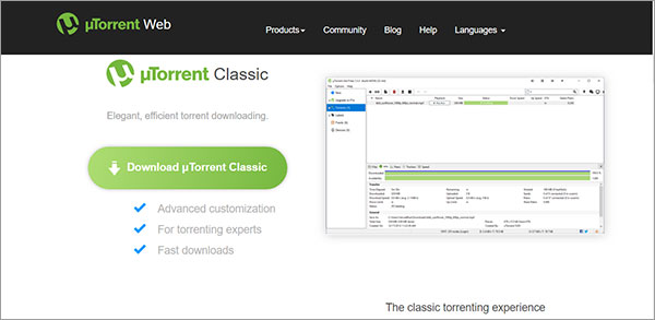 use-uTorrent-to-download-torrent-on-Mac