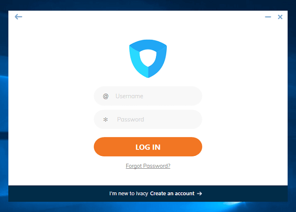 Ivacy-VPN-Login