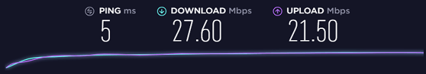 Speed-Test-before-Connecting