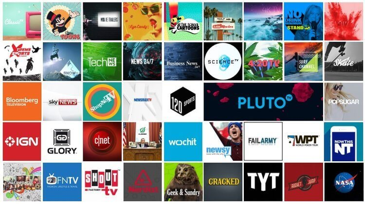 Streaming-content-on-Pluto TV-outside-US