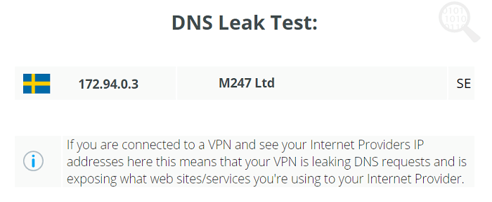DNS-Leak-Celo-VPN