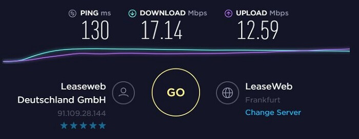 ExpressVPN-Speed-Test-Germany