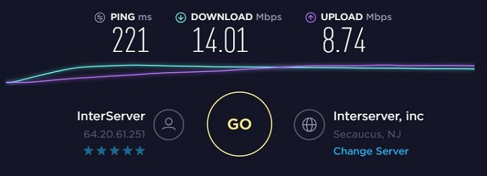 ExpressVPN-Speed-Test-New-Jersey