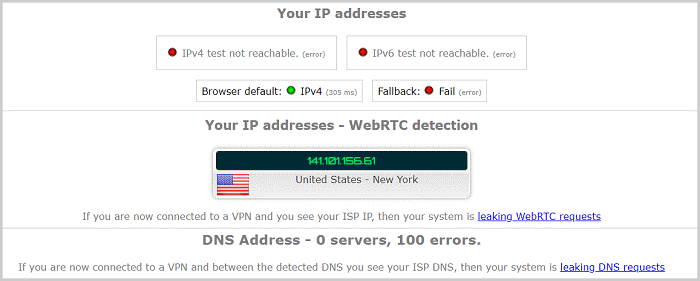 Ivacy-DNS-Leak-Test