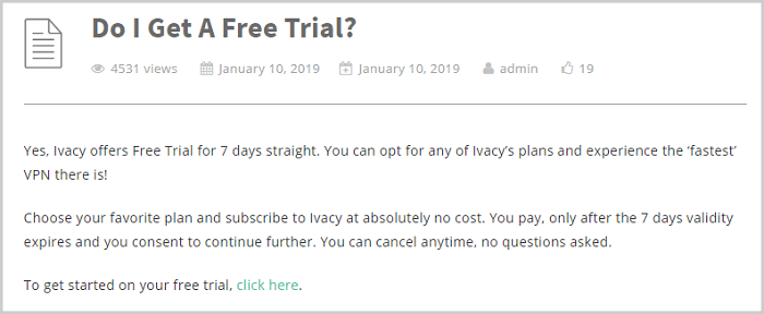Ivacy-Free-Trial