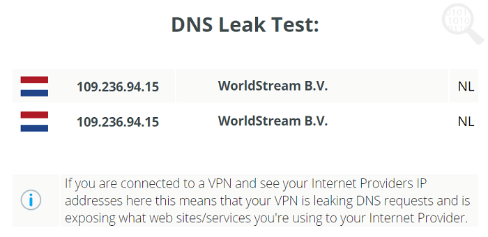Perfect-Privacy-DNS-Test