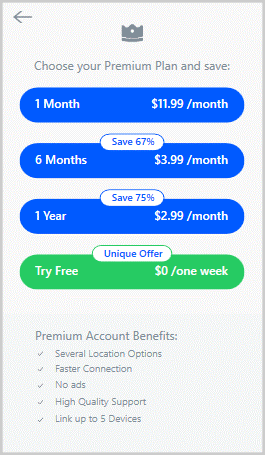 Pricing-of-Betternet