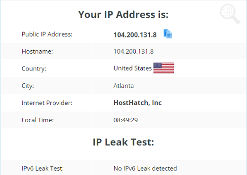 VPN-Master-IP-Leak-Test