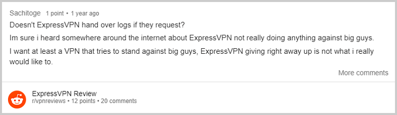 ExpressVPN-Reddit-Review-2