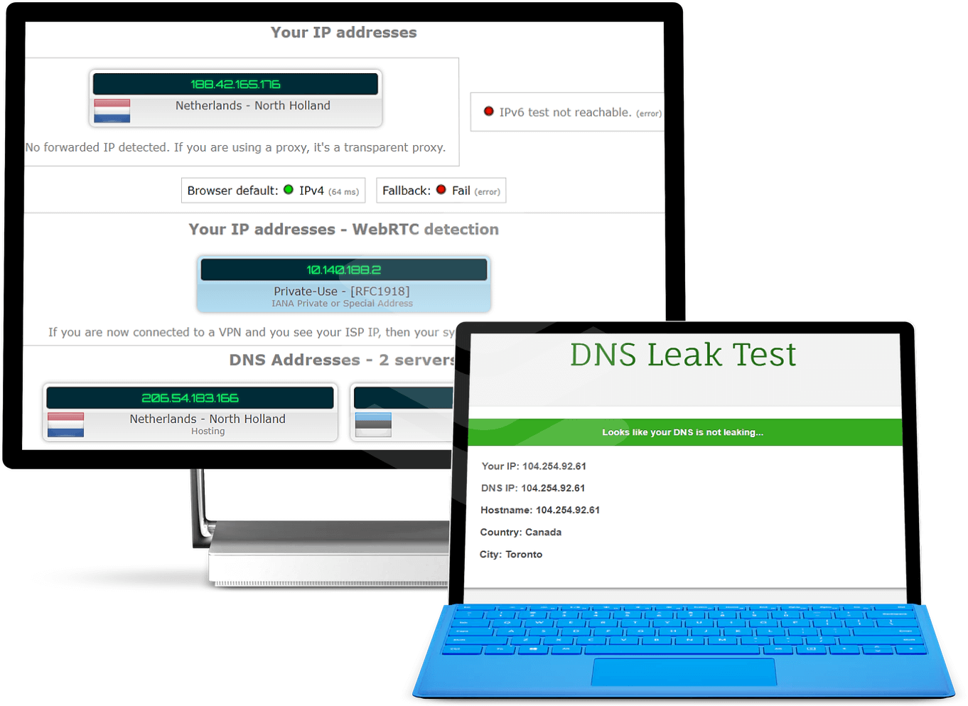 ExpressVPN-leak-test