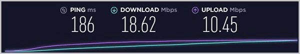 Speed-Test-Showing-Windscribe-UK-Server-Speed