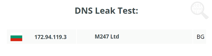 SpyOFF DNS Leak Test